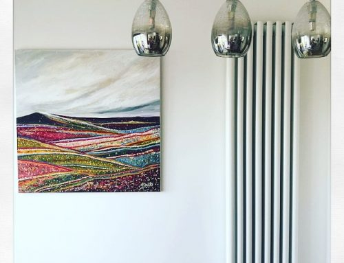 'Summertime' is hung in North Devon